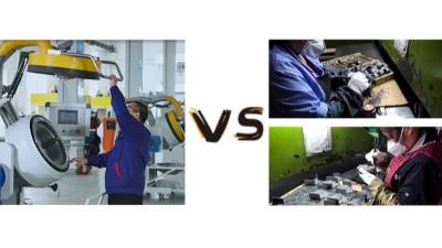 全自动喷涂设备与传统手工喷涂的对比优势