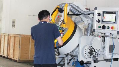 广东客户订购一台安捷伦AJL.R55型自动滚喷机