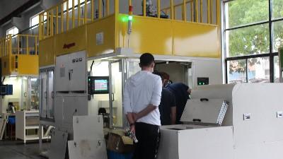 安徽客户下单安捷伦ZG100型内孔自动涂胶机